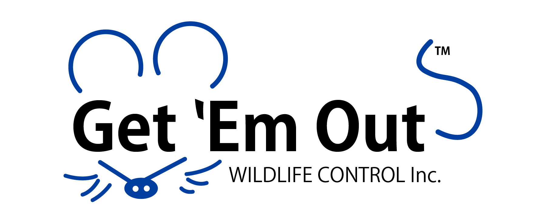 Get 'Em Out Wildlife Control (logo)